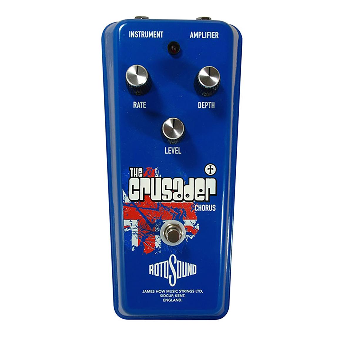 Rotosound Crusader Chorus effects pedal