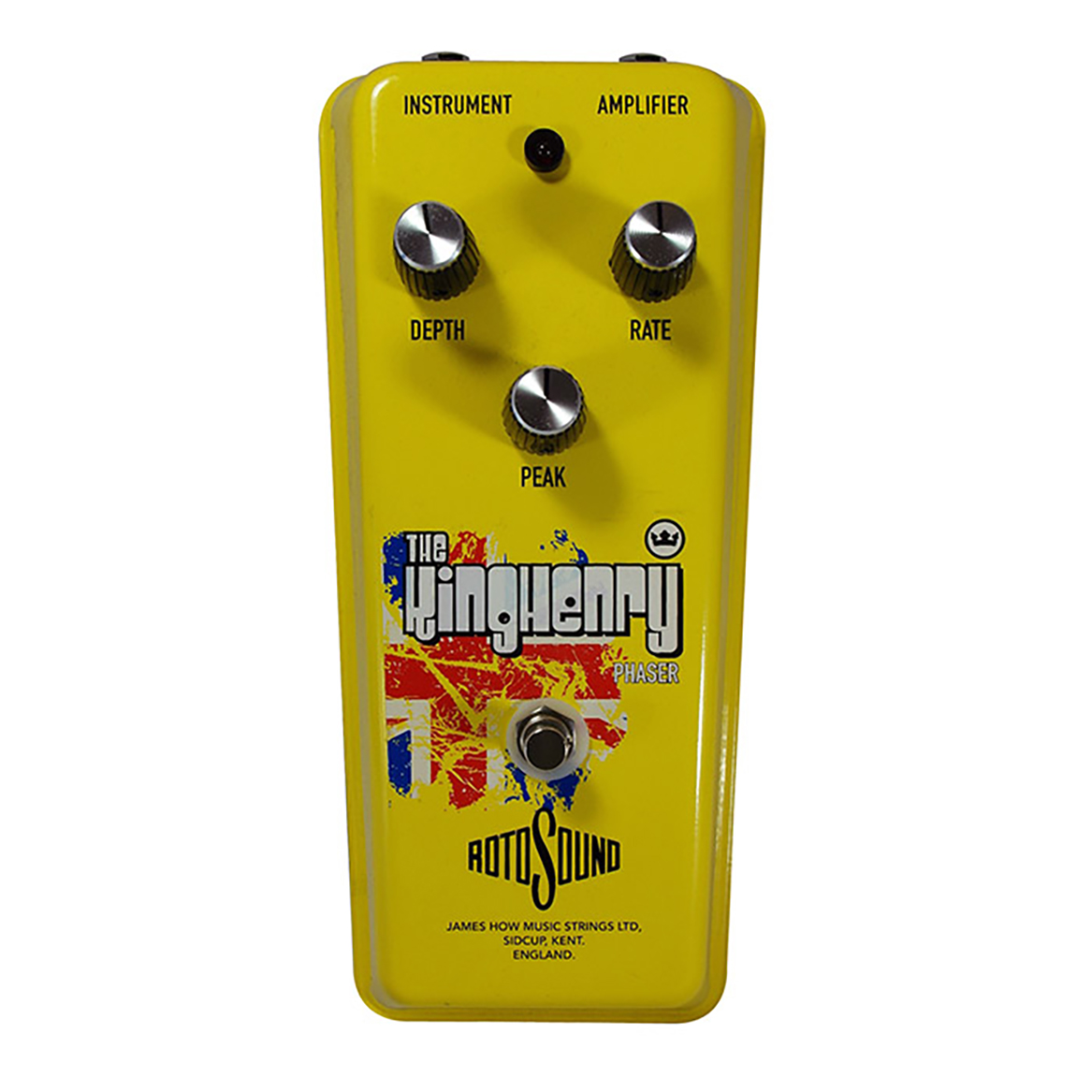 Rotosound King Henry Phaser effects pedal