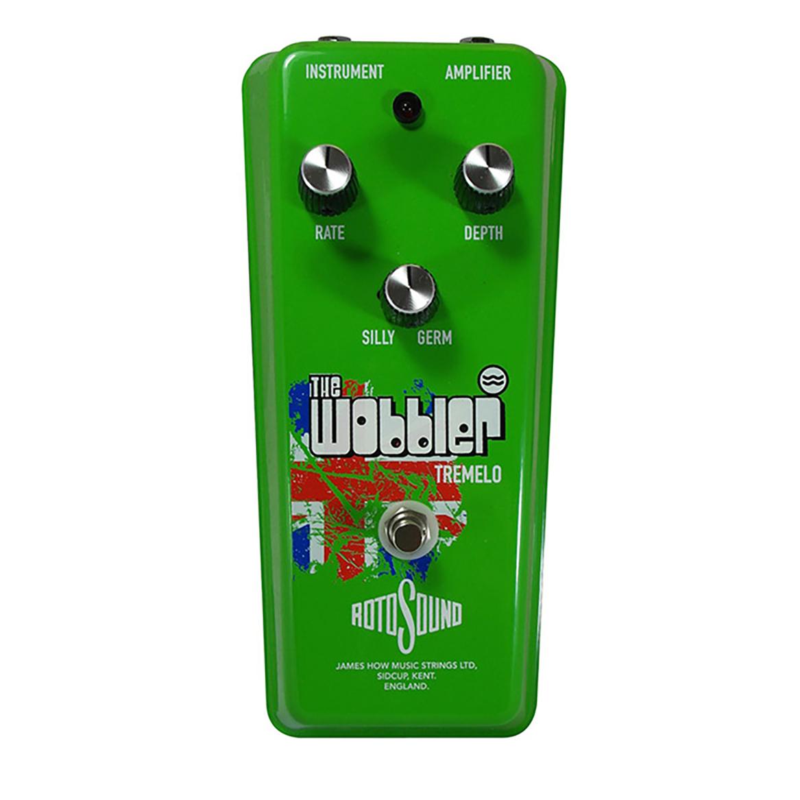Rotosound Wobbler Tremelo effects pedal. Germanium tremolo