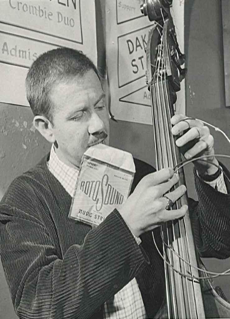 Spike Heatley double bass jazz player Rotosound Archive