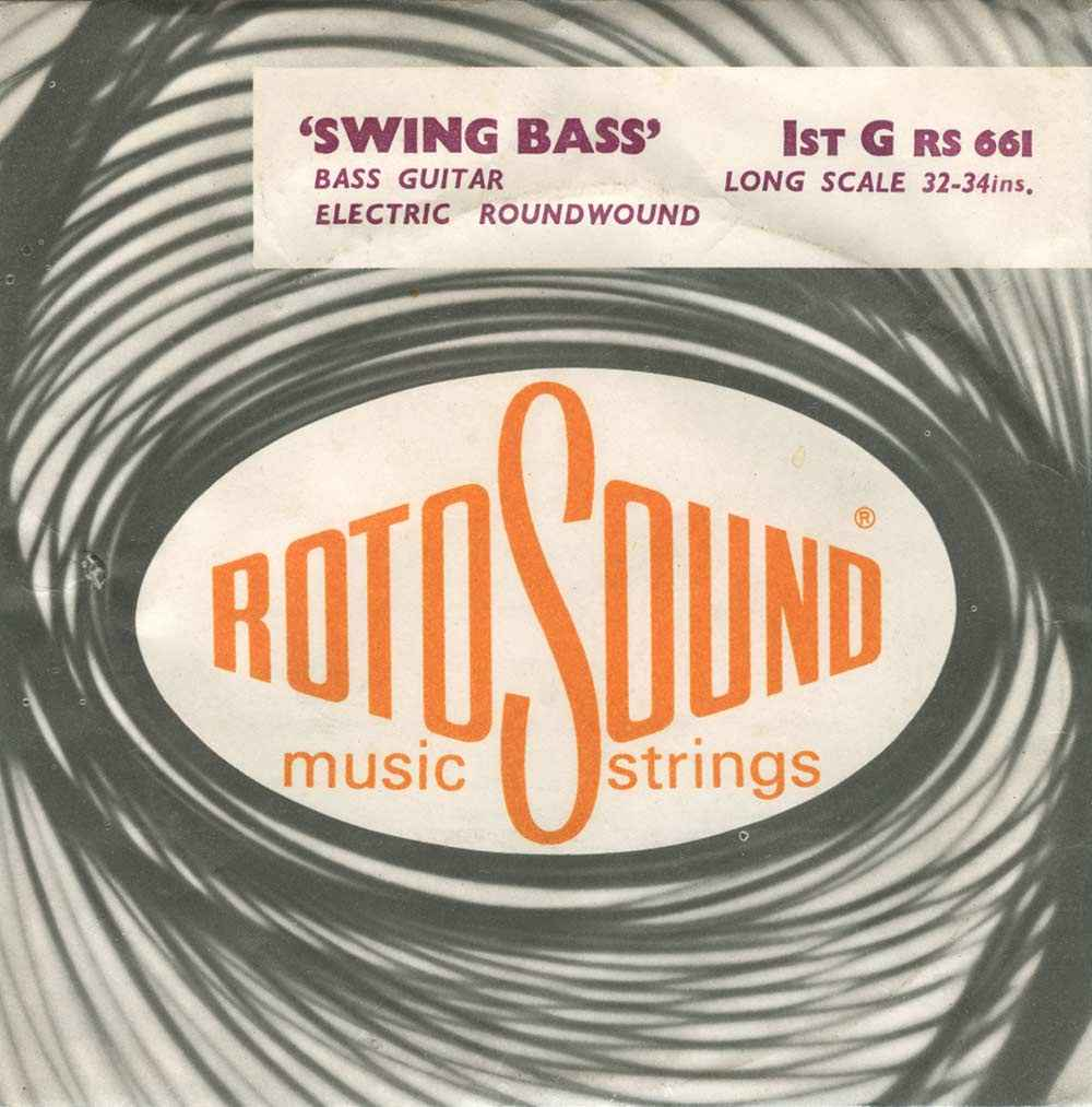 Swing Bass 1967 roundwound string pack Rotosound Archive