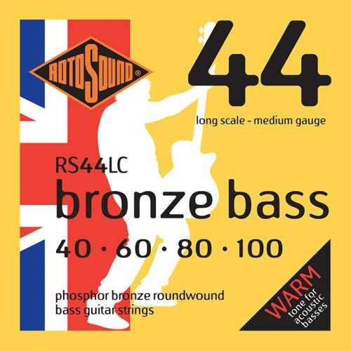 rs44lc Rotosound Bronze Bass phosphor acoustic strings stings srings base gitar giutar medium regular long scale best tone