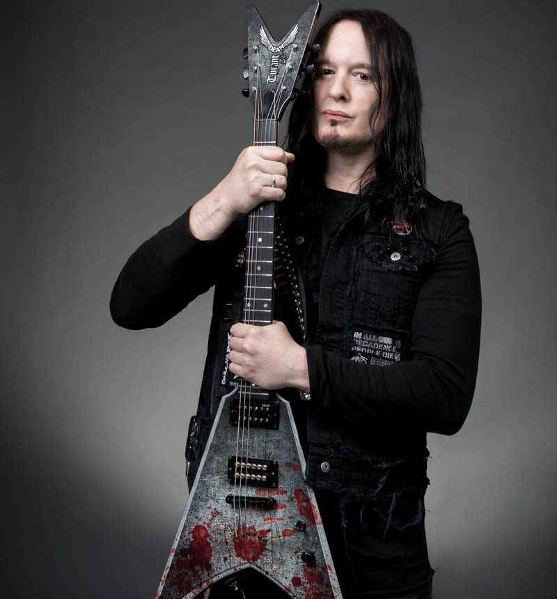 Michael Amott Arch Enemy guitarist Rotosound music strings