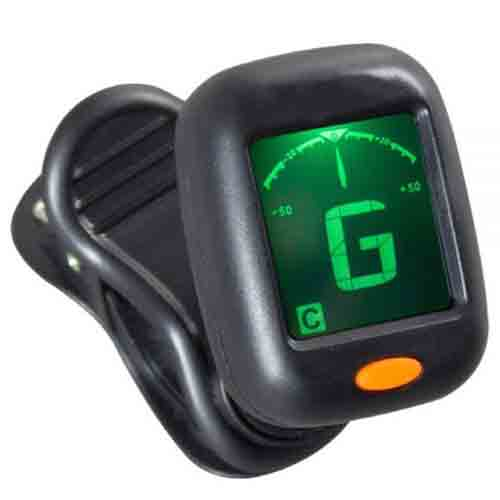 Rotosound HT-200 clip on chromatic headstock tuner black