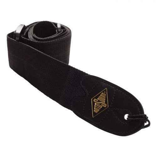 Rotosound STR1 webbing guitar strap black