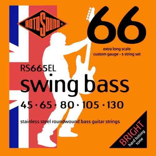 RS665EL Rotosound Swing Bass stainless steel roundwound strings