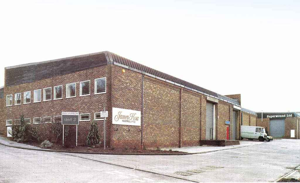 Unit 3 Rotosound factory 1986