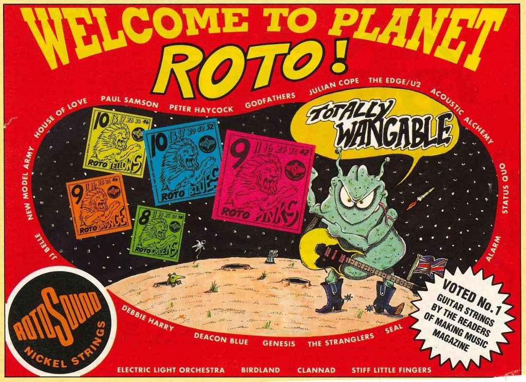 Welcome to Planet Roto advert