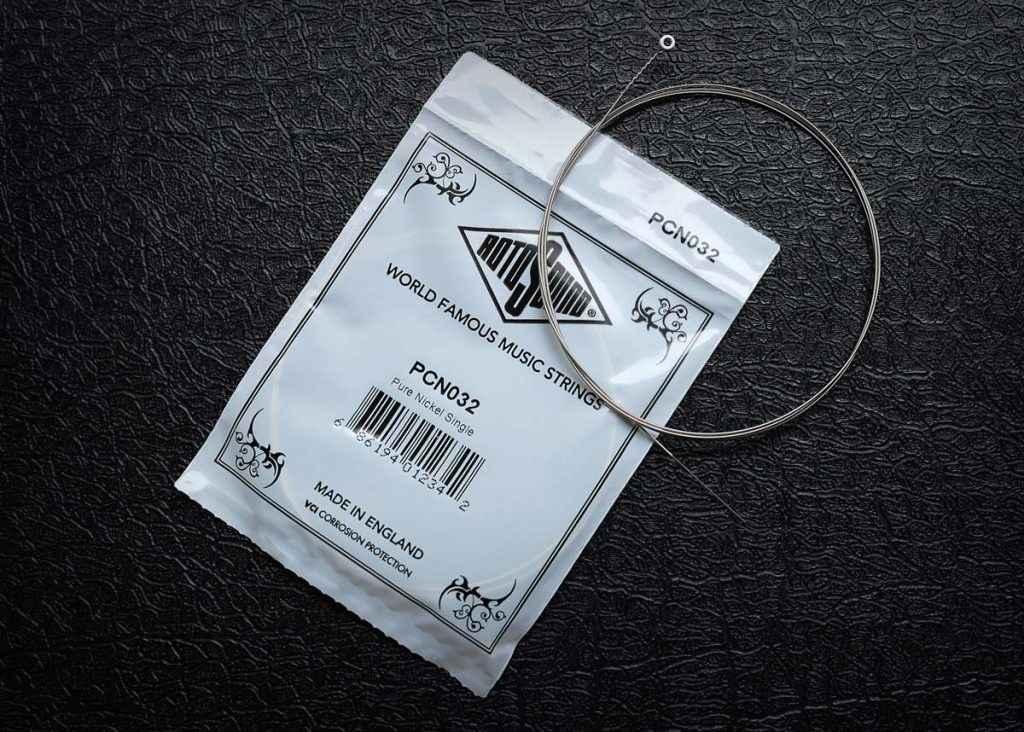 Rotosound Single Strings string packaging guitar bass acoustic british steel pure nickel nexus ultramag