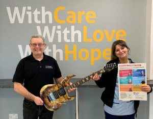 12Guitars at the Teenage Cancer Trust Rotosound charity