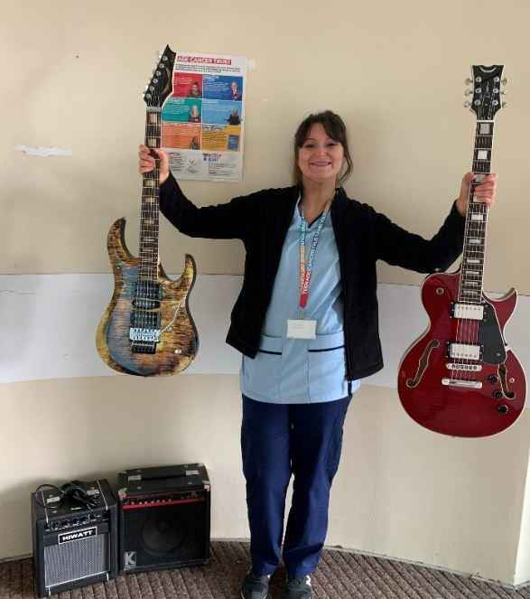 12Guitars at the Teenage Cancer Trust Rotosound charity Rotos