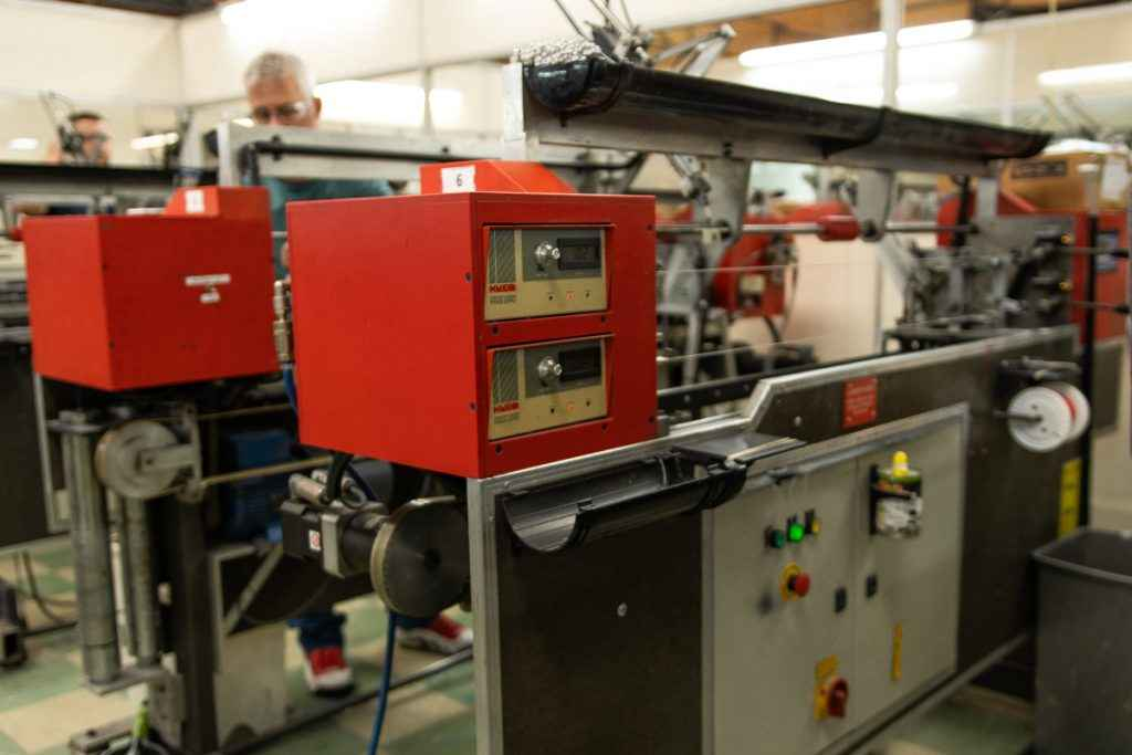 Rotosound Red multi string winding machines