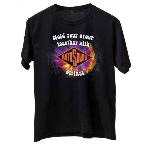 Rotosound black Hold Your Group Together T Shirt front