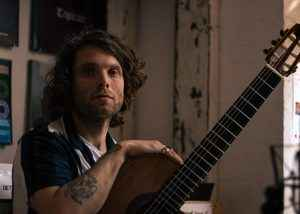 Guitarist Tom Ford for Rotosound Music Strings