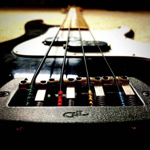 Nexus Bass black coated strings